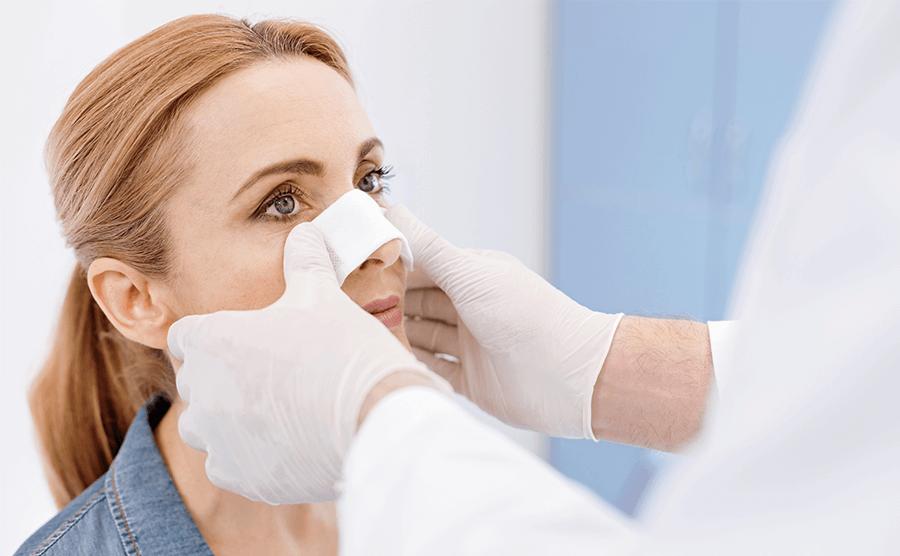 Pré e Pós-operatório de Rinoplastia