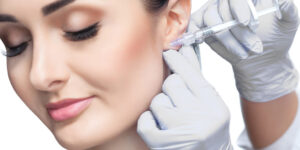 preenchimento do lóbulo da orelha